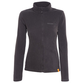 axant Nuba fleece jas Dames zwart
